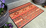 Qualtry Personalized Outdoor Welcome Entrance Door Mat - Decorative Front Door Welcome Rug Wedding Gift (Southwest Stewart Design, Large Size)
