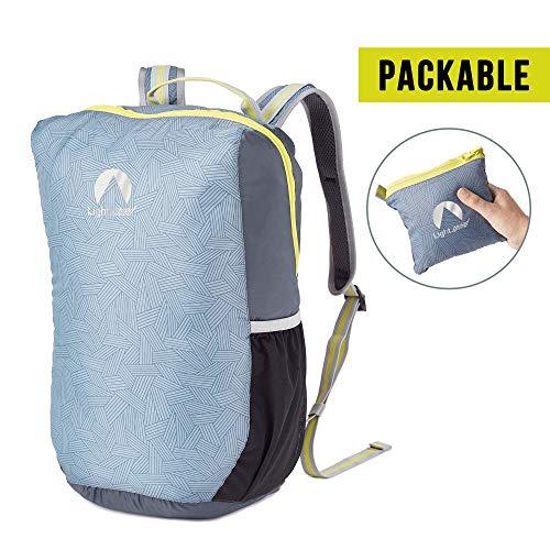 Lightspeed Outdoors Ultra Lightweight Water Repellent Nylon Travel Packable Backpack   Water Resistant Mochila, 20L