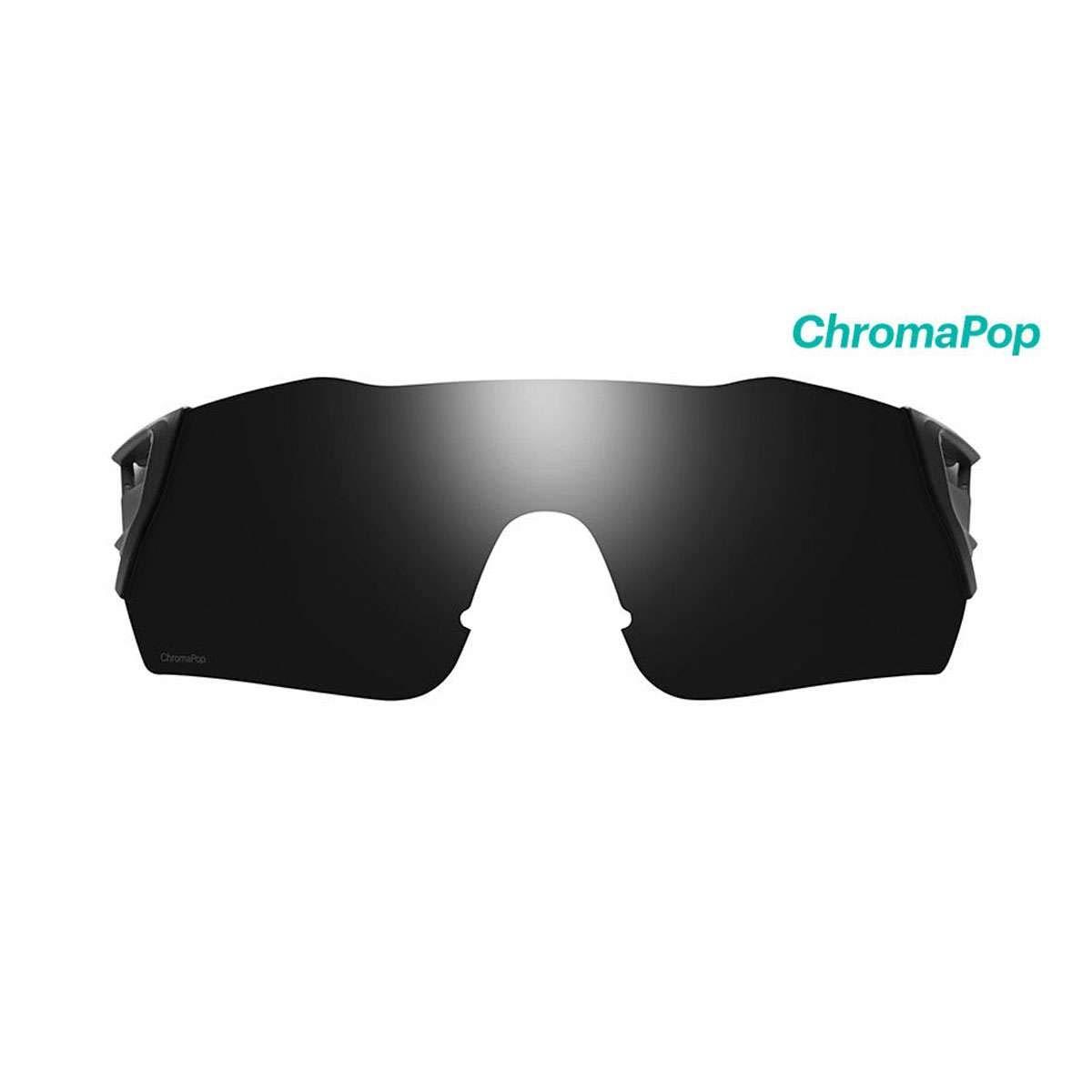 Smith Optics Attack Sunglasses - Replacement Lens - ChromaPop Black - 421014LEN001C by Smith Optics