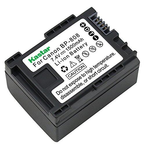 Kastar Battery for Canon BP-808 and Canon HF G10 HF G20, VIXIA HF M30, VIXIA HF M31, VIXIA HF M32, VIXIA HF M36, VIXIA HF M300,VIXIA HF M301, VIXIA HF M306, VIXIA HF M40, VIXIA HG30, XA10, XA10 HD by Kastar