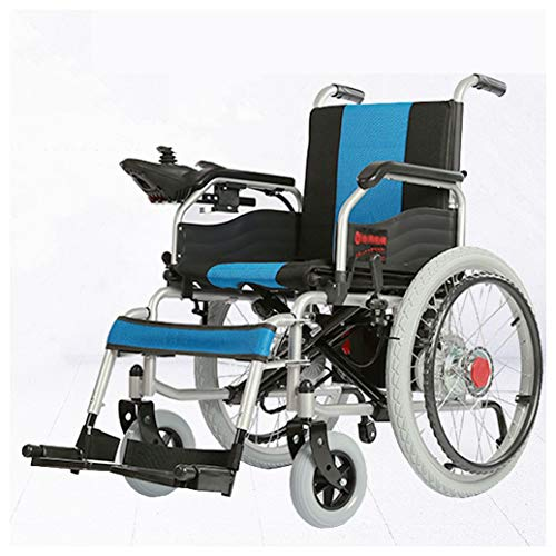 - Ho,ney Electric Wheelchair - Electric Wheelchair Intelligent Automatic Folding Light Manual Handicapped Elderly Scooter -98749 Wheelchair (Color : Black)
