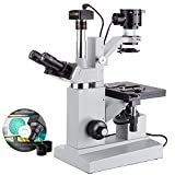 40X-640X Inverted Tissue Culture Microscope + USB Camera