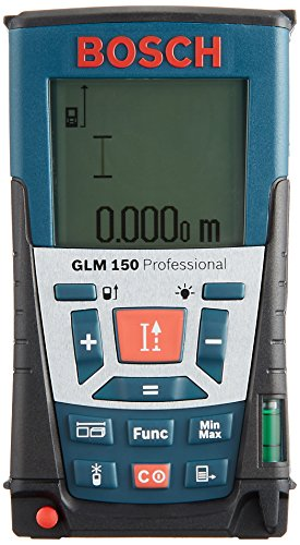 BOSCH (보쉬) 레이저 거리 측정기 GLM150 【 정품 】 / BOSCH Laser Rangefinder GLM150 [Genuin