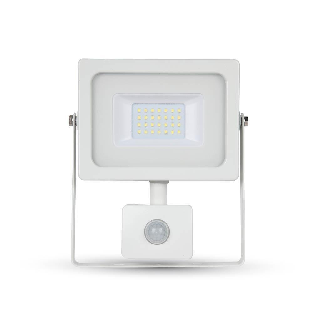 Foco LED 20 W 1600LM 100 ° V-TAC aluminio Ultra Fina Slim Blanco ...