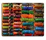 MSD Natural Rubber Gaming Mousepad IMAGE ID 20262417 Colorful bangles are up for sale out side the store
