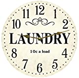 Laundry Room Clock (12.5″) For Sale