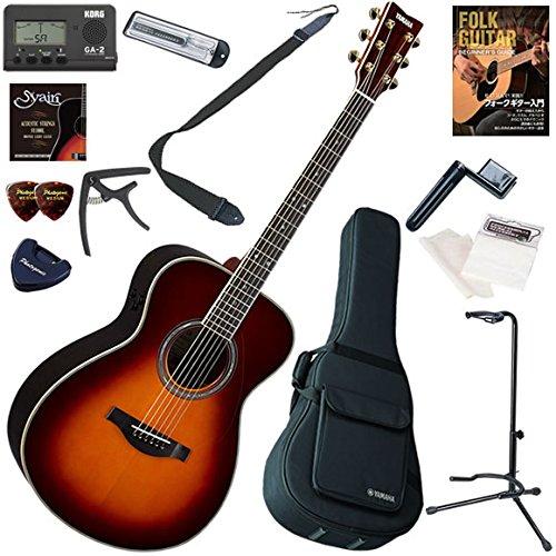 数量は多 YAMAHA アコースティックギター 初心者 入門 初心者 ギターの生音にリバーブ、コーラスをかけられるトランスアコースティックギター YAMAHA お手軽13点セット B0792N5C9K LS-TA/BS(ブラウンサンバースト) B0792N5C9K BS(ブラウンサンバースト), カーパーツ KATSUNOKI国際:46bafe48 --- digitalmantraacademy.com