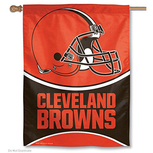 NFL Cleveland Browns 27-by-37-Inch Vertical Flag