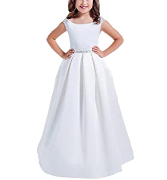 White Party Dresses for Girls