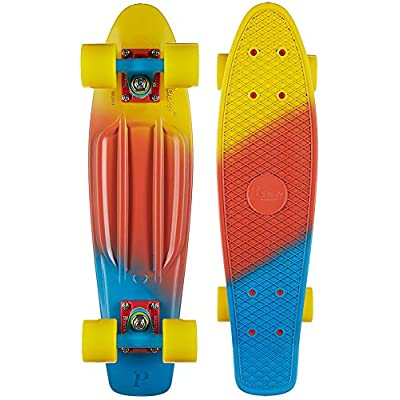 "Penny Fade Complete Skateboard, Canary, 22"" : Sports & Outdoors"
