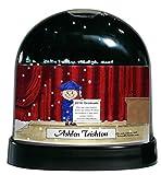 Personalized Friendly Folks Cartoon Caricature Snow Globe Gift: Graduation - Female Great for high school, college, tech school graduation