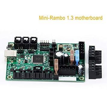 Soulitem- Juego de Accesorios para Impresora 3D Mini Rambo ...