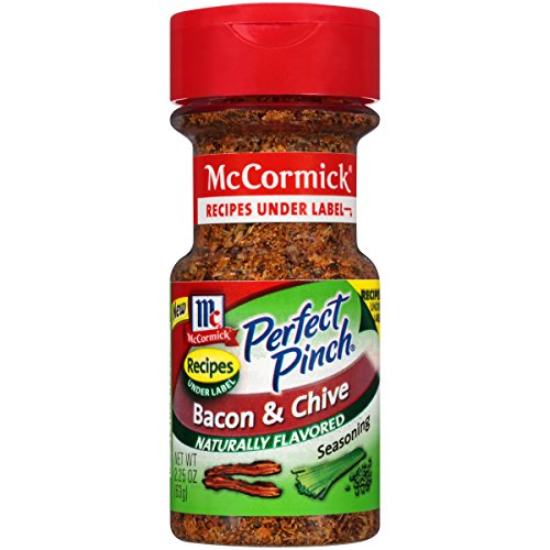 McCormick Perfect Pinch Bacon & Chive Seasoning, 2.25 oz (Pack of 6) by McCormick