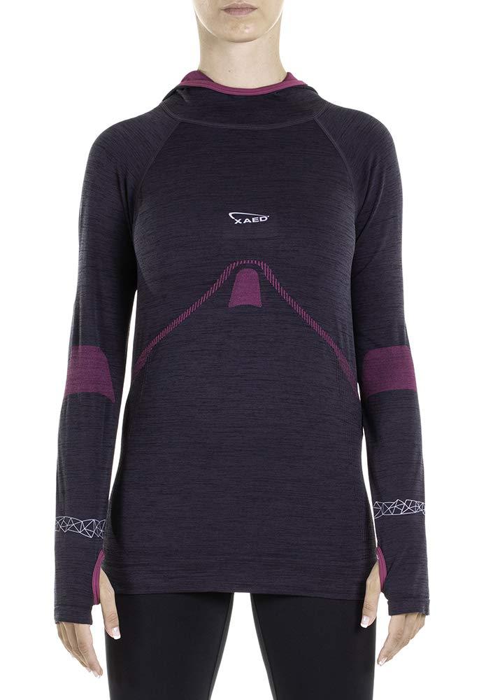 XAED Laufshirt Damen mit Kapuze Shirt Trerè Innovation Srl Unipersonale I101070-001