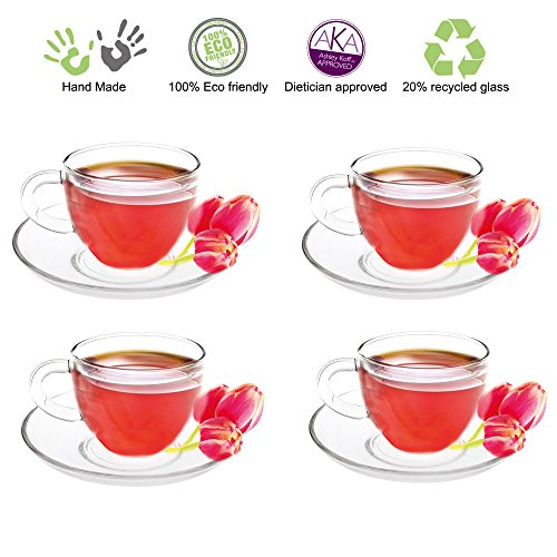 Tea Beyond Teacups Saucers 5 Ounce product image