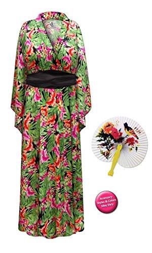Tropi (Plus Size Geisha Halloween Costumes)