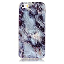 """OTTER MK for iPhone 6 6S Case, IMD and Full Cover Soft TPU Marble Slim Fit Shockproof Anti-Scratch Case Cover for iPhone 6/6s 4.7"""""""