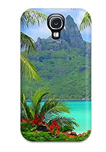 New Snap-on JenniferLCrowe Skin Case Cover Compatible With Galaxy S4- Bora Bora