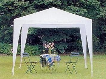 Cenador cm 300 x 200 Mt 3 x 2 Jardín Fiera Mercado toalla poliéster blanco: Amazon.es: Bricolaje y herramientas
