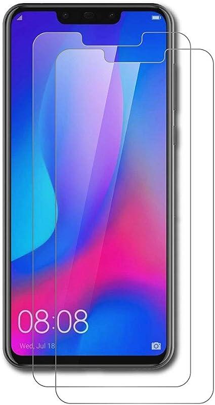 AICEK [2-Pack Protector de Pantalla Huawei P Smart Plus, Cristal ...