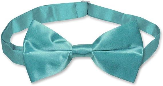SEQUIN BOW TIE BOWTIE TURQUOISE BLUE PROM TUXEDO WEDDING COSTUME MEN OR WOMEN