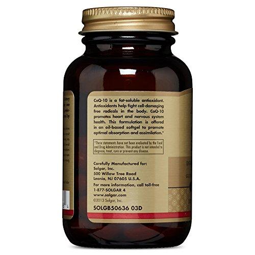 Solgar – Megasorb CoQ-10, 200 mg, 60 Softgels
