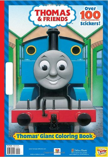 THOMAS\' GIANT COLORI: Golden Books: 9780375847257: Amazon.com: Books