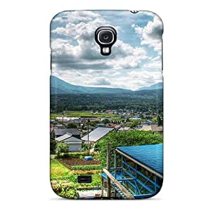 First-class Case Cover For Galaxy S4 Dual Protection Cover Small City