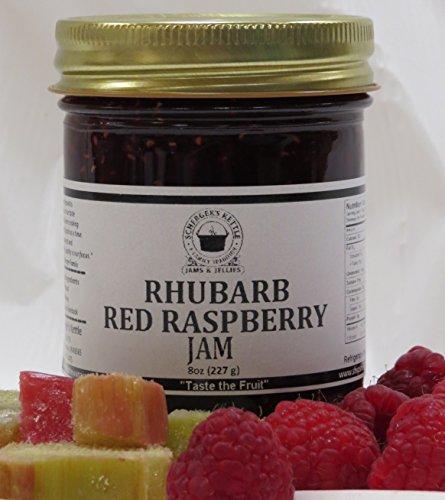Rhubarb Red Raspberry Jam, 8 - Raspberry Jam Rhubarb