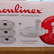 moulinex d coupe l gumes xf383110 accessoire companion officiel r pe tranche compatible avec. Black Bedroom Furniture Sets. Home Design Ideas