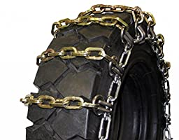 Quality Chain Square Alloy 7mm Forklift Link Tire Chains (2-Link Spacing) (1401-2SL)