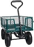 Dporticus Four-Wheel Trailer Large Folding Wagon