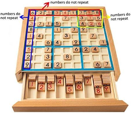 Larcele Madera Sudoku Juegos de Mesa SD-02: Amazon.es: Juguetes y juegos