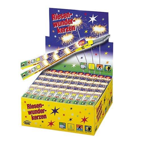 Wunderkerzen 10 Stück - Riesenwunderkerzen - Feuerwerk - Lassen sie es funken sprühen!