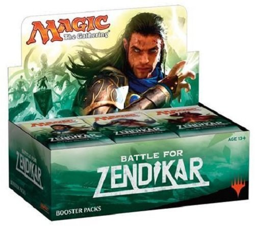 MTG Magic the Gathering BFZ Battle For Zendikar Booster Box - 36 packs