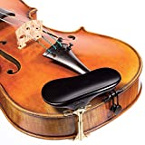 SAS Ebony Chinrest for 3/4-4/4 Violin or Viola with