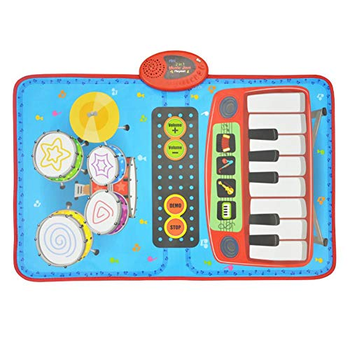 Window-pick@BB Children's Dance Mat Jazz Drum Home Multifunctional Electric Piano Early Education Puzzle Music Game Mat Blanket by Window-pick (Image #1)