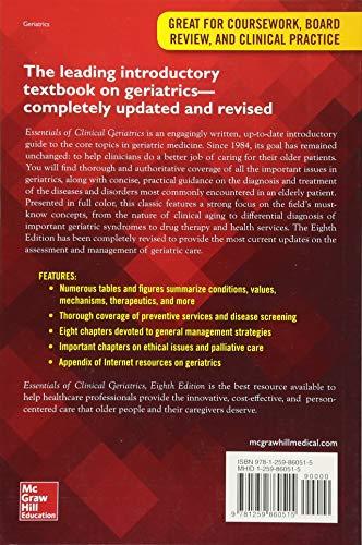 Essentials of Clinical Geriatrics, Eighth Edition