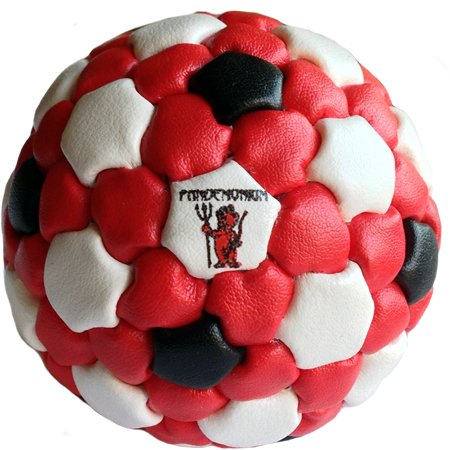 Bubba Oversized Footbag 152 Panels Pro mini Net Bag, for Playing Foot-c junior net! Good for soccer drills! 3 inches wide by pandemonium