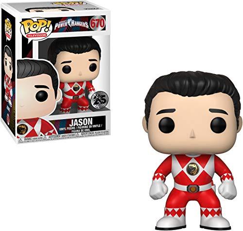 Funko 32806 Ranger Rojo Sin Casco Figura, Standard, Multicolor