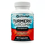 milk powder made in usa - Turmeric Curcumin with Bioperine Joint Pain Relief - Anti-Inflammatory & Antioxidant Supplement with 10mg of Black Pepper for Better Absorption. Best 100% All Natural Non-Gmo Made in USA, 90 count