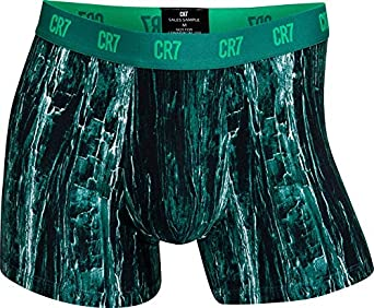 CR7 Homme Cristiano Ronaldo 3-Pack BAMBOU Mélange Trunk Boxer