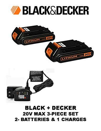 black and decker 19v - 8