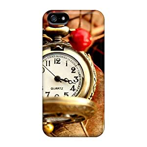 Hot Covers Cases For Iphone/ 5/5s Cases Covers Skin - Beautiful Vintage Watch