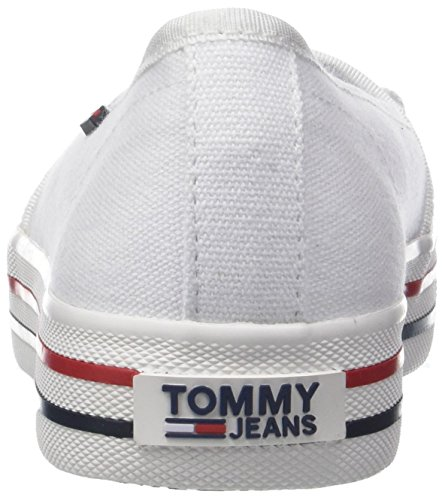 Basses Sneakers Sneaker Jeans Tommy Lace Femme IT8RwgOxq