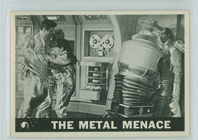 1966 Lost In Space #21 Metal Menace Very Good to Excellent (4 out of 10) by Mickeys Cards