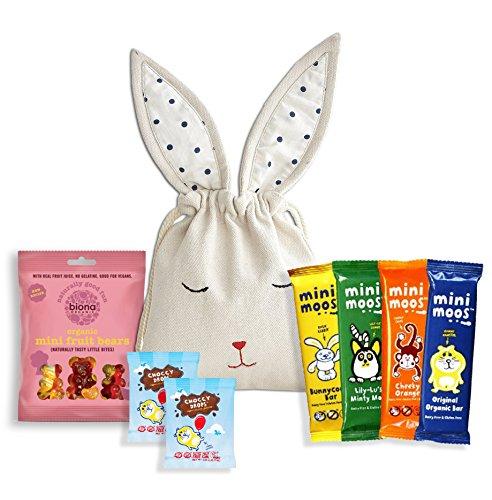 Mini Moo vegan sweet Kids Bunny Bag by The Yummy Palette | dairy free gluten free vegan 7 pieces