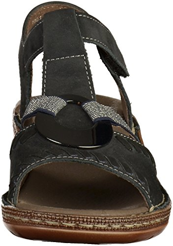 ara 37255 Women Sandals West 12 Blue Key SwPqSr