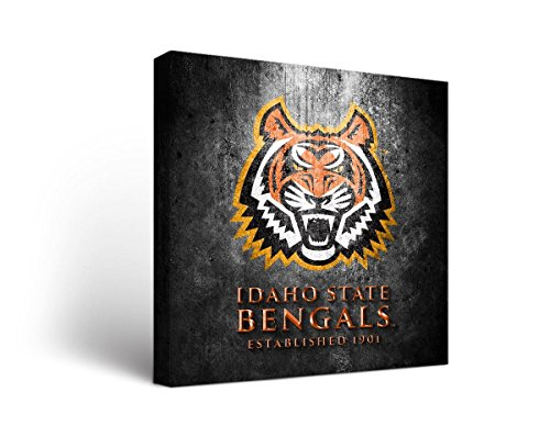 - Victory Tailgate Idaho State University Bengals Canvas Wall Art Museum Design (12x12)
