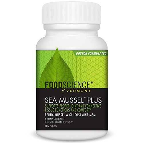 Food Science Sea Mussel - FoodScience of Vermont Sea Mussel Plus - 180 Tablets